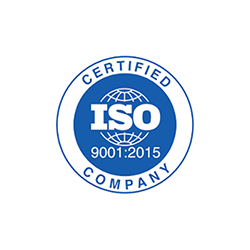 ISO 9001:2015 : Certified Company